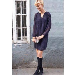 CAbi 3102 Harlequin Stripe Shift Tunic Dress